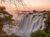 Zambia, view of the Eastern Cataract of Victoria Falls, during high water in June 2009 © David Rogers