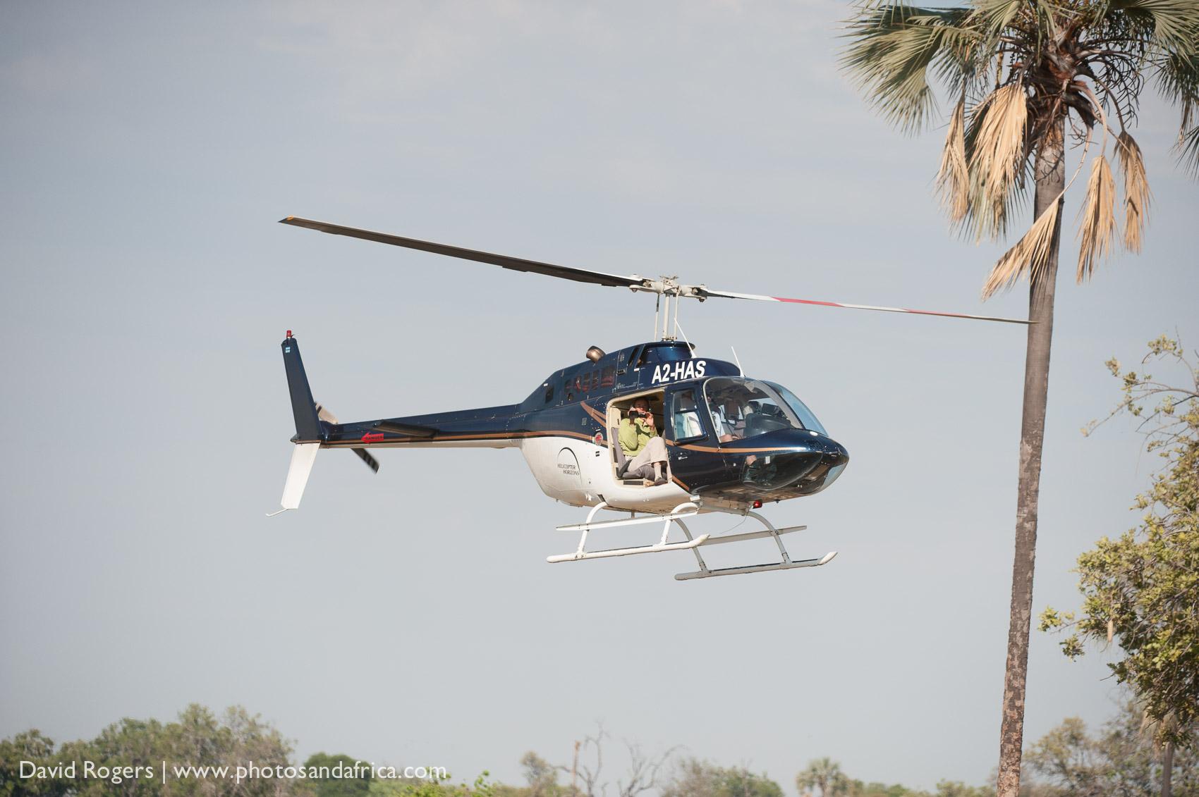 Okavango helicopters