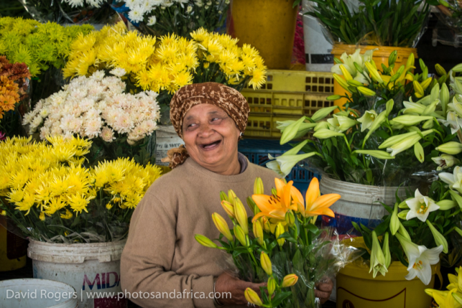 Cape Town flower sellers