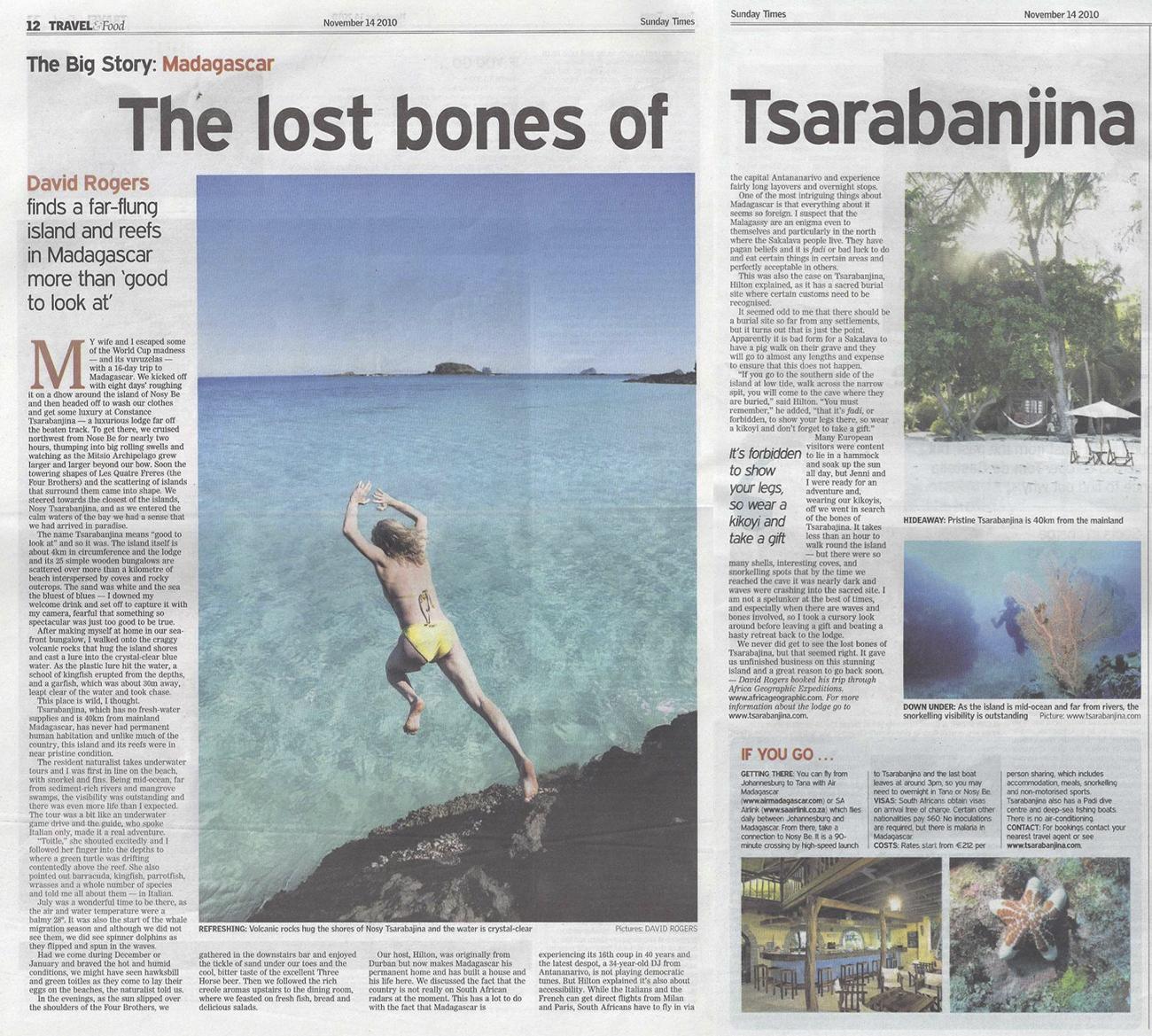 lost bones of tsarabanjina